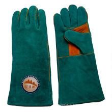 Кожаные защитные перчатки для сварки кож