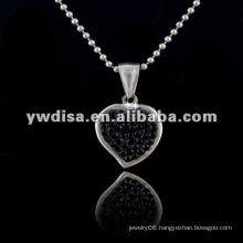 Hot Sale Heart Shape Necklace, Beautiful Necklace & Different Colors For Your Choose