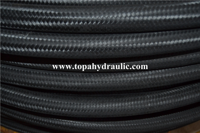 High pressure rubber hydraulic hose press line fittings