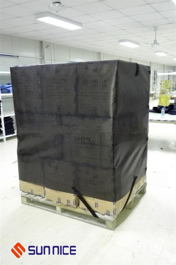 neuer innovation pallet wrap film zur einsparung von kosten. Black Bedroom Furniture Sets. Home Design Ideas