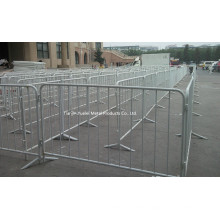 Galvanised Crowd Queue Control Safety Barrier/Pedestrian Traffic and Crowd Control Barrier Made in China