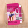 Customized packing woman underwear apparel paper boxes