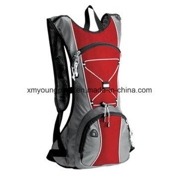 Moda Red mochila de hidratación al aire libre para el ciclismo