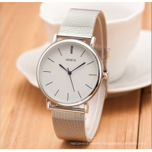 Unisex Wristwatch Fashion Metal Net Band