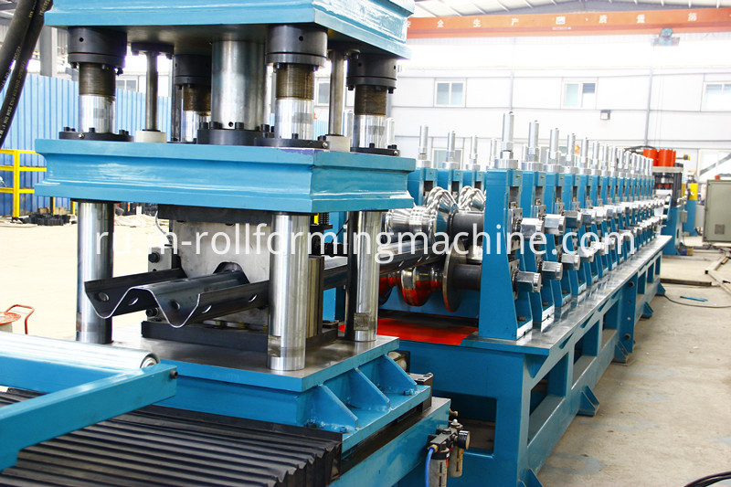2&3 waves speedway guardrail roll forming machine