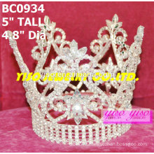 beauty pageant round crowns and tiaras