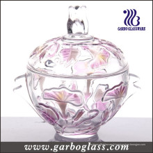 Morning Glory Glass Sugar Pot (GB1805QN / P)