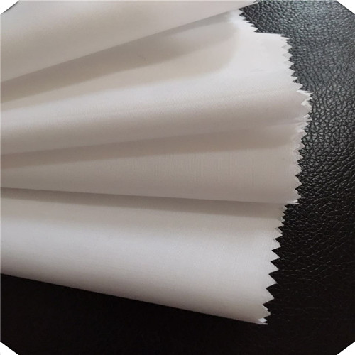 Bleached White Lining Fabric For Bags