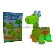 Juguetes con pilas con luz intermitente y música para niños