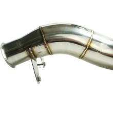 304/201 polish DOWNPIPE EXHAUST for B*w  M2 N554 M135i
