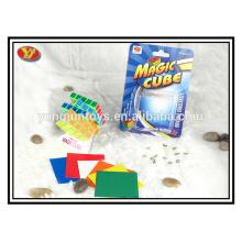 YongJun plastique blanc 5x5 magic cube cadeaux promotionnels
