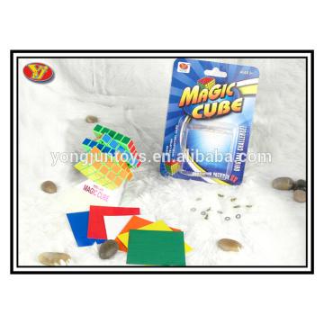 YongJun plastic white 5x5 magic puzzle cube promotional gifts