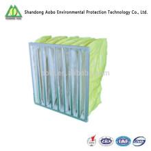 Filtro de bolsa de filtro de aire de bolsillo HVAC