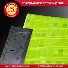 Reflejo resistente al agua coloreada ruedas etiquetas