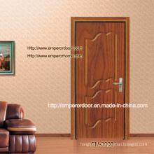 Промойте дверь, дверь ПВХ шпона, МДФ ПВХ двери, рамы