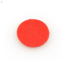 Almohadilla de difusor de fibra roja de moda, almohadillas de locket de difusor de aceite esencial