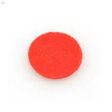 Diffuseur de fibre de verre rouge à la mode, coussinets de médaillon de diffuseur d'huile essentielle