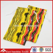 Bolsa de tela textil de joyería bolsa de tela, bolso de lentes de microfibra textil / bolsa de teléfono celular