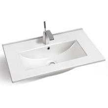 sanitary ware thin edge hand wash sink bathroom ceramic cabinet wash basin sink