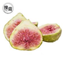 Les pépites de fruit de vente chaude d'Amazone lyophilisent le casse-croûte de figue séchée