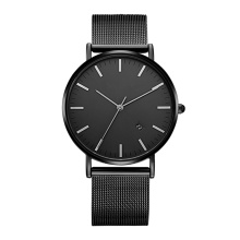 Cool Black Wrist Watches for Men Support Custom