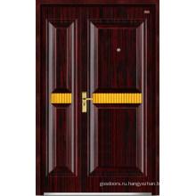 Стальные деревянные двери (LT-323)