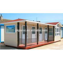 Profesionales modernos prefabricados baratos casas / casa de contenedores vivos / prefabricados contenedor de contenedores