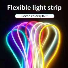 Tira de luz flexible con forma