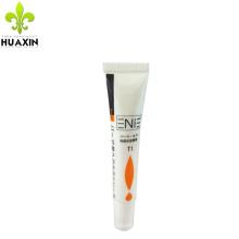 Embalaje del tubo del protector de cuero plástico blanco 15ML