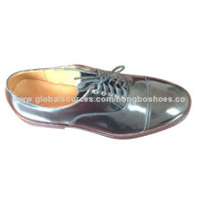 Men's Dress Leather Shoe, Cow Leather Sole, All Leather Upper, Comfortable InsoleNew
