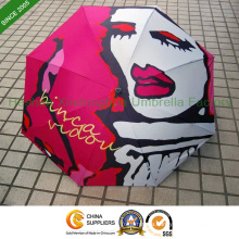 "54""Arc Fiberglass Golf Umbrella with Full Printing (GOL-D027F)"