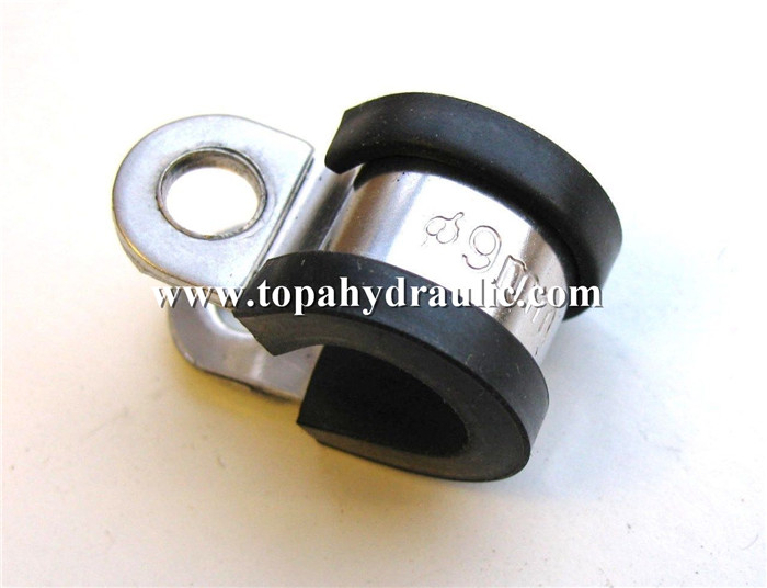 High pressure P type carbon hose clamp