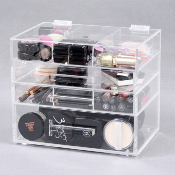Big Clear Bathroom Cosmetic Organizer