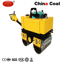 Walk Behind Double Steel Wheel Vibratory Hydraulic Road Roller Compactor