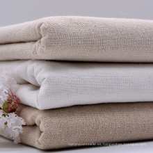 65% Lino 35% Tejido de algodón Tejido Textil Ropa Camiseta Tela