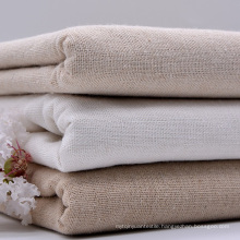 65% Linen 35% Cotton Dyed Woven Textile Garment Shirt Fabric