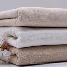 65% Linho 35% Algodão Tingido Têxtil Vestuário Camisa Tecido