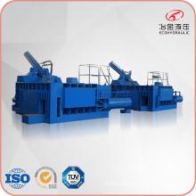 Prensa de máquina de reciclagem de enfardamento de aço inoxidável hidráulico