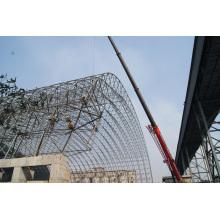 Steel Space Frame Arch Carbón de almacenamiento