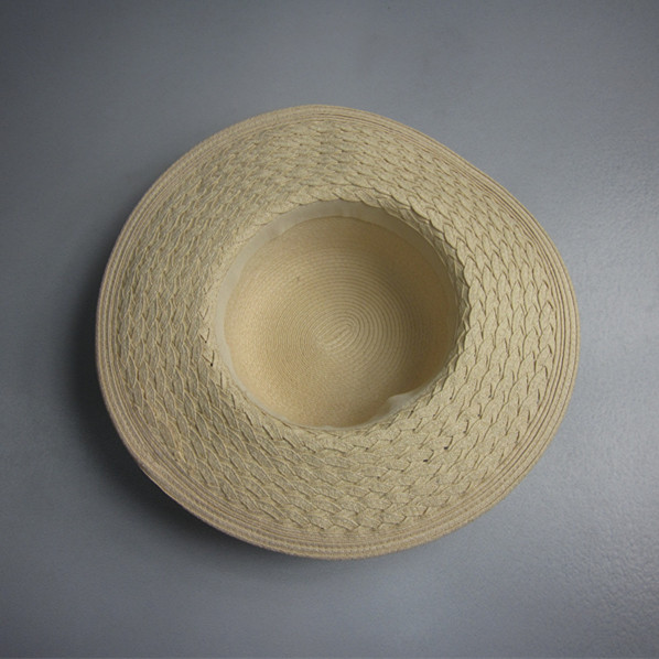 Wide Brim Blank Straw Hat Wholesale