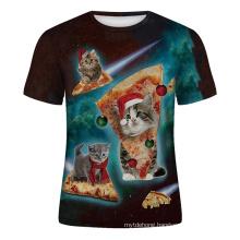 Fashion Custom Short Sleeves Tshirt Wholesale Print Mens T-Shirts