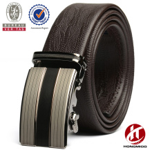 Men's automatic buckle leather belt/designer belts for cheap