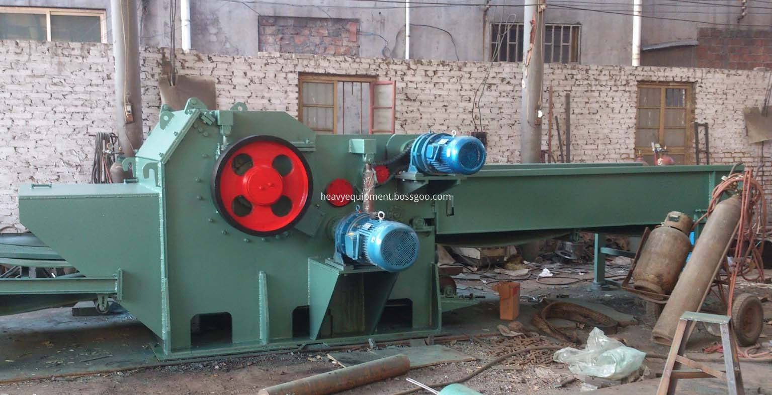 wood template crusher