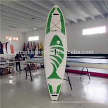 Nuevas tablas inflable inflables de SUP del tablero de paleta de la AQUA Surf