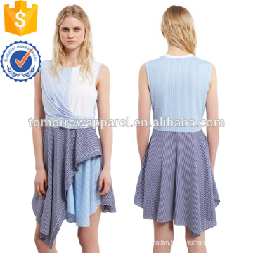 Cody Stripe Flare Dress Manufacture Wholesale Fashion Women Apparel (TA4082D)