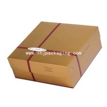 Cartón Embalaje De Papel Cake Food Box