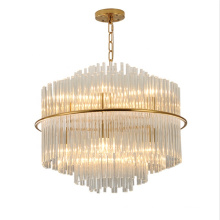 Hotel Lobby Luxury Crystal Chandelier Gorgeous Gold Glass Led Crystal Chandelier
