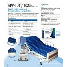 APP-T05 colchão inflável do ar da massagem
