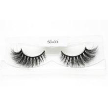 5D Mink Eyelashes 100% Fur Material Lashes Hand Made Eyelash 5D-03 - Mcds Inci Coa BV Sg ISO9001