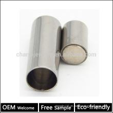 BX004 OEM 304 aço inoxidável magnético pulseira de couro clasp DIY jóias resultados para corda pulseiras amostra grátis